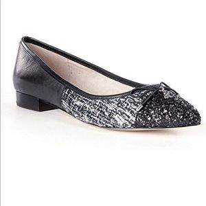 Sam Edelman Lilly Pointed-Toe Black Flats